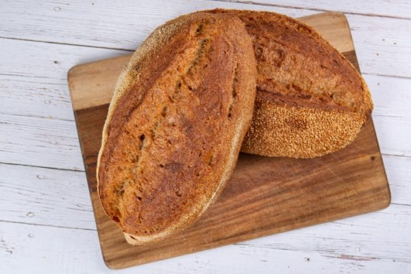 לחם שאור כפרי צרפתי זקס בייקרי ואוכל טוב