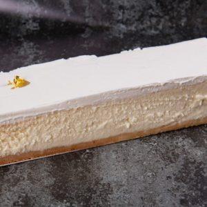 פס עוגת גבינה ושוקולד לבן אפויה זקס בייקרי ואוכל טוב