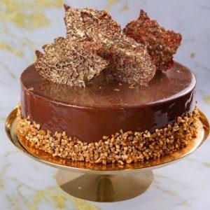 מוס שוקולד תחתית בראוניז קרמו שוקולד מריר קראנצ שוקולד מריר מכיל אגוזים זקס בייקרי ואוכל טוב