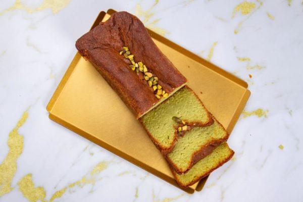 עוגת פיסטוק שקדים לימון